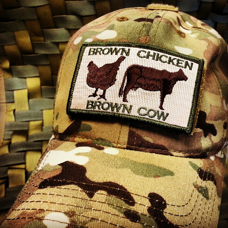 Brown Chicken Brown Cow Patch meaning