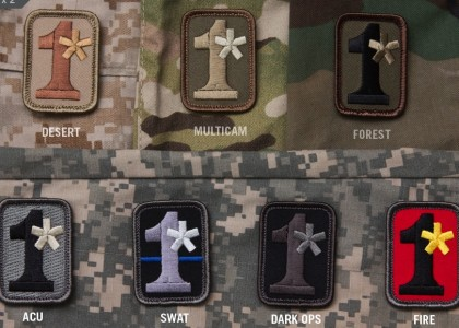 1 asterisk (1*) morale patch meaning explained