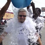 "CEO Takes ALS Challenge in Ferguson, MO ""Hot Zone"""