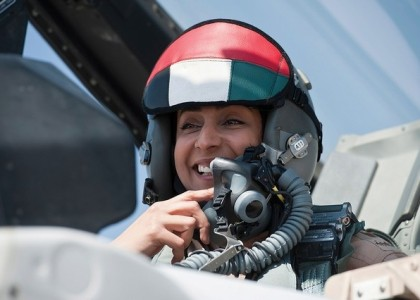 ISIS Fight: Mariam Al Mansouri Is First Woman Fighter Pilot for U.A.E.