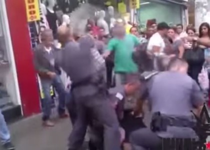 [VIDEO] Brazil Police Use Lethal Force [GRAPHIC VIOLENCE]