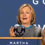 """Watch Hillary Clinton Say: """"Don't let anybody tell you that its corporations and businesses that create jobs."""""""
