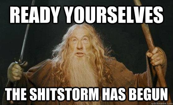 shitstorm facebook