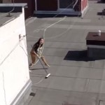 The Racy (& Catchy) Video a Drone Captured of a Rooftop Sunbather is About the Most Predictable Thing Ever