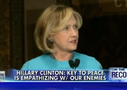[VIDEO] Hillary Clinton says America should 'empathize' with its enemies