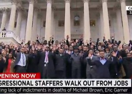 Minority congressional staffers plan walkout in wake of Brown, Garner decisions