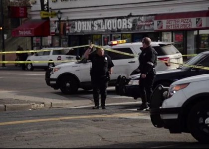 Four Denver cops hit by car amid Ferguson protest; one in critical condition