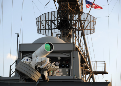 [VIDEO] Navy Successfully Tests First-Ever Laser Weapon in the Persian Gulf