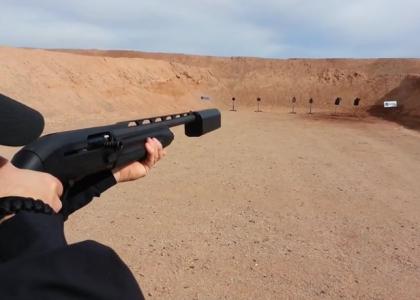 [VIDEO] Tactical Sh*t Fires a 12 Gauge Shotgun With a Suppressor at SHOT Show 2015