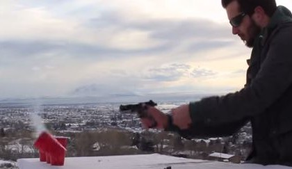 [VIDEO] The Cup Song, Pitch Perfect WITH GUNS!!!