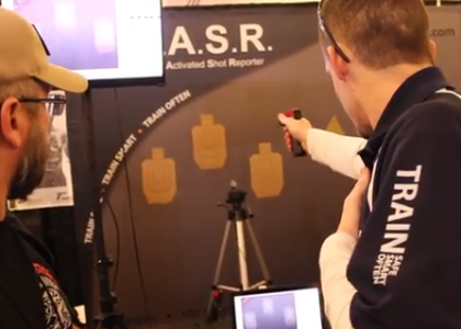 [VIDEO] The Laser Activated Shot Reporter (L.A.S.R) AKA The COOLEST Sh*t We've Seen So Far at SHOT Show 2015