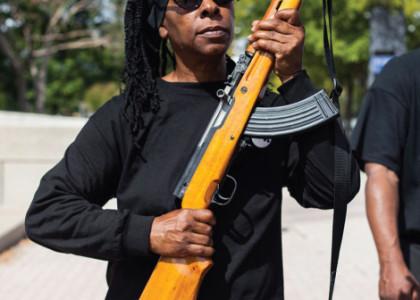 [PHOTOS] ALERT: Armed Gangs of Black Panthers Are Now Openly Patrolling Neighborhoods