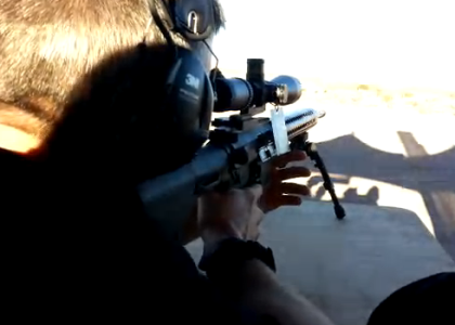 [VIDEO] Shooting 820 Yards Out with Precision Firearms at SHOT Show 2015