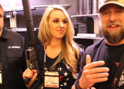 [VIDEO] TJ Visits the Rhino Arms Booth at SHOT Show 2015