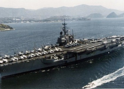 [VIDEO] The Navy Is Scrapping The Aircraft Carrier Once Called The 'Top Gun Of The Pacific'