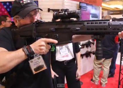 [VIDEO] Tactical Sh*t At Vltor Systems Booth SHOT Show 2015