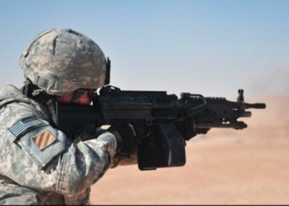 [VIDEO] U.S. Soldier in a Firefight with ISIS is Shot in the Face, His Reaction is AWESOME