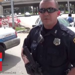 [VIDEO] Oathkeeping Officer Confronts Open Carrying Idiot