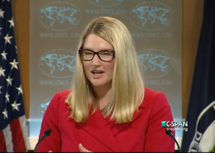 """""""I'm not here to answer your questions"""" says reporter to testy State Dept. spox"""