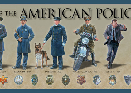 Incendiary Image of the Day: The History of the American Policeman Edition