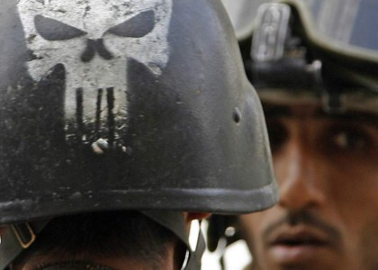 Marvels Punisher Becomes the Icon of the Fight Against ISIS