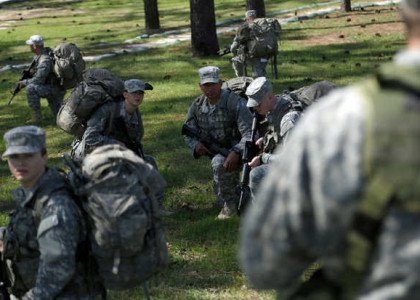 Update: Women make strong showing on first day of Ranger School