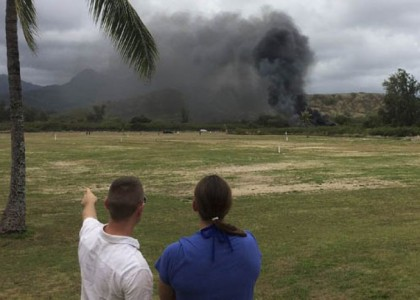 US Marines defend Osprey aircraft's safety record after deadly Hawaii crash