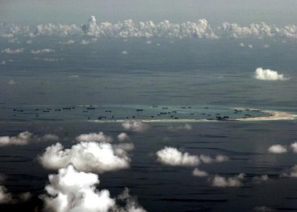 U.S., China set for high-stakes rivalry in skies above South China Sea