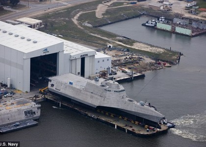 Navy ship christened for Gabrielle Giffords, wounded in 2011 shooting