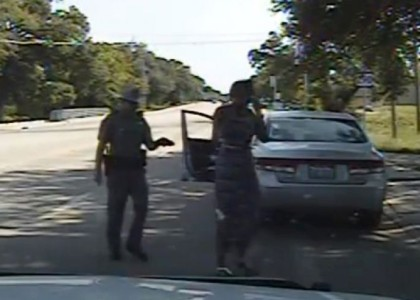 [VIDEO] Dashboard video shows how Sandra Bland traffic stop escalated