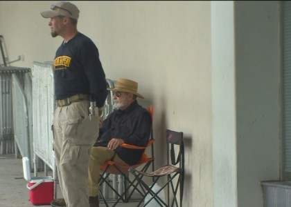Oath Keepers Asked to Leave Property While Standing Guard at Recruiting Offices