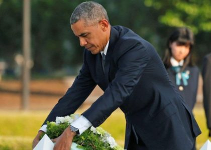 Obama calls for reduction of nuclear stockpiles during Hiroshima visit