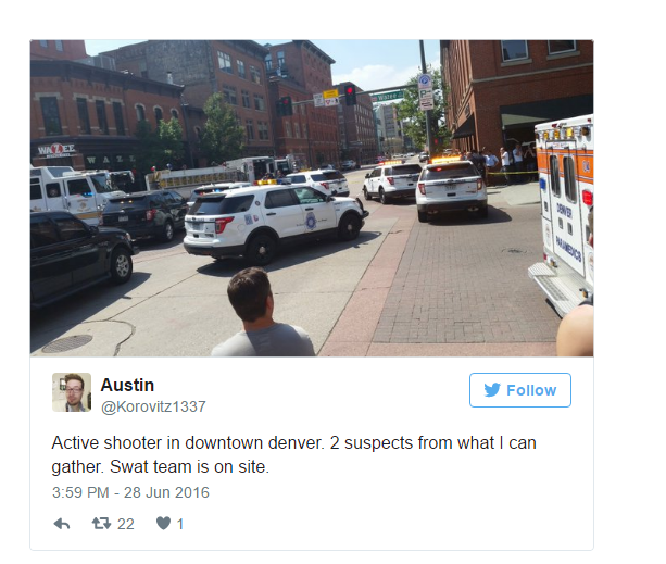 Denver Shooting Competition: Multiple Victims Amid Active Shooting In Denver, Police Say