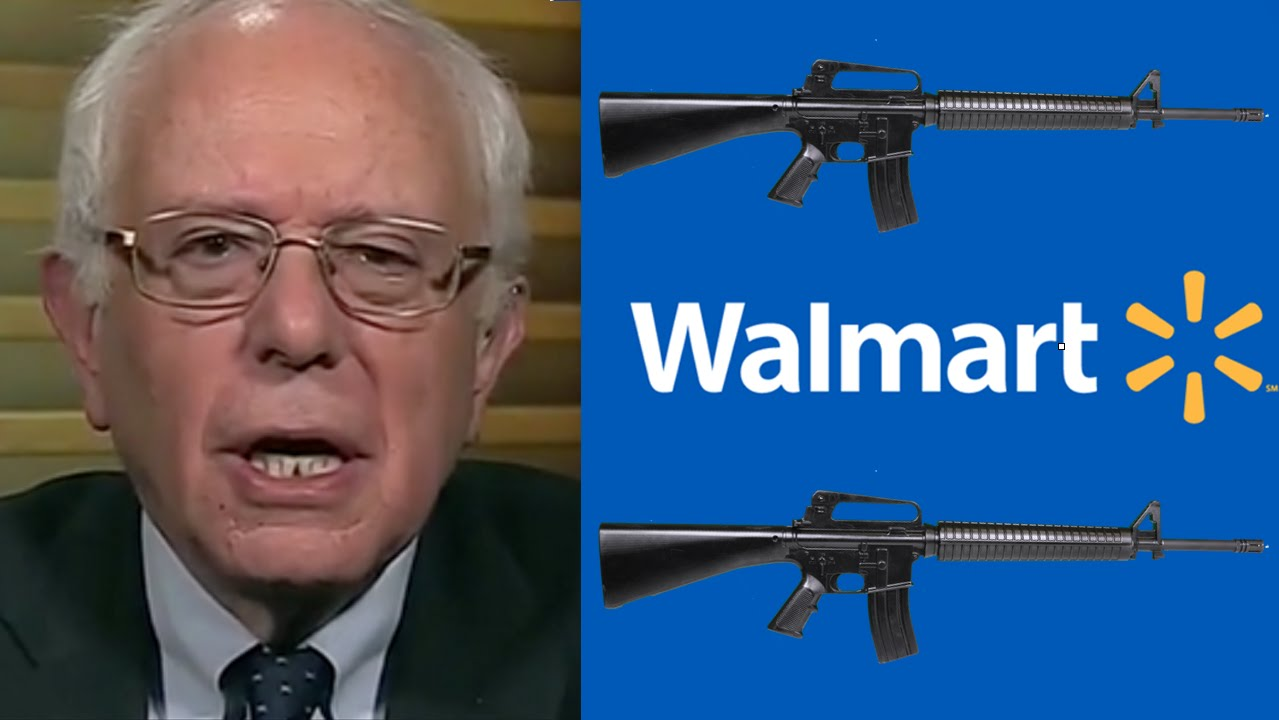 walmart machine guns