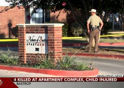 Three adults and a child found shot to death at Texas apartment