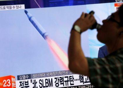 North Korean submarine missile launch shows secretive program picking up steam