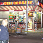 Bystander shot and killed after man takes gun from NYPD officer