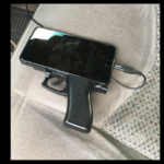 Gun-shaped cell phone case prompts police standoff