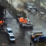 Car bomb kills 2 outside courthouse in Turkey, Suspect on the run