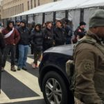 Black Lives Matter protesters, others force inauguration checkpoint shutdowns