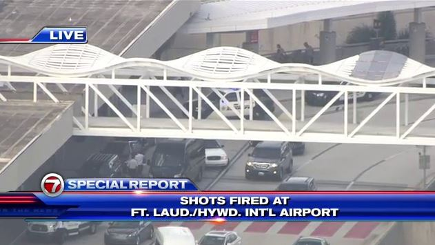 Active Shooter In FORT LAUDERDALE Airport in Custody !