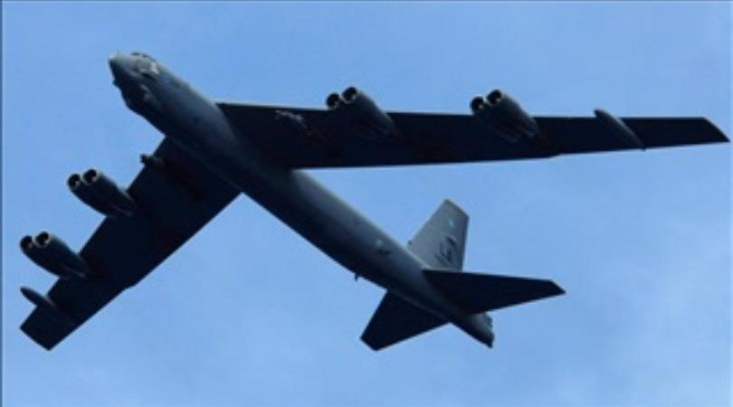 Engine drops from B-52 bomber in rural North Dakota