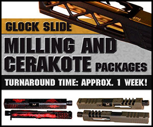Glock Milling and Cerakote Packages