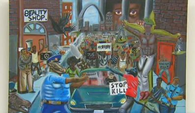 """Cops as """"Pigs"""" Painting to be PERMANENTLY Removed from Capitol Hill"""
