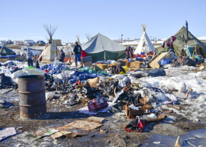 Volunteers rescue dogs, puppies seemingly abandoned at DAPL protest camps
