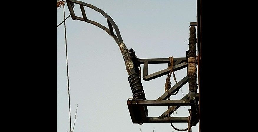 Drug catapult found attached to Mexican side of US border fence