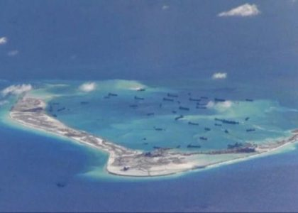 China Sea structures to house missiles, officials say