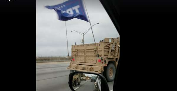 Navy investigating SEALs unit that rode with Trump flag in Kentucky convoy