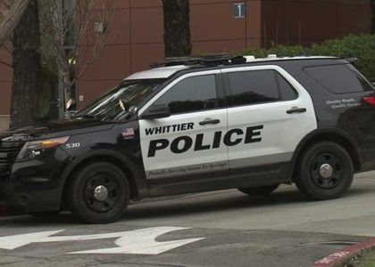 BREAKING! WHITTIER POLICE OFFICER KILLED; 2ND OFFICER, SUSPECT INJURED