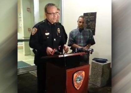 Florida police chief, officer arrested in woman's fatal shooting at citizen's academy exercise